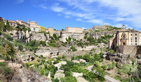 Panoramic view of Cuenca Royalty Free Stock Photography