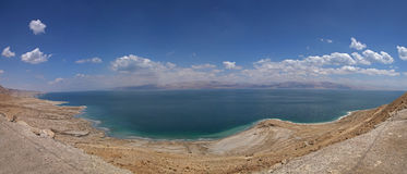 Panoramic view on Dead Sea. Israel Stock Images