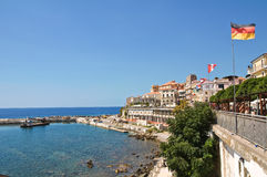 Panoramic view of Diamante. Calabria. Italy. Stock Image