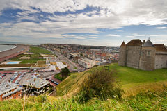 Panoramic view of Dieppe Stock Photos