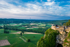 Panoramic view from dome dordogne Royalty Free Stock Photography
