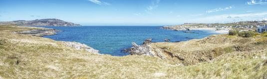 Panoramic view Donegal Ireland Royalty Free Stock Images