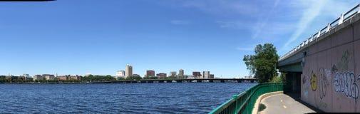 Panoramic view downtown Boston, Massachusetts Royalty Free Stock Photography