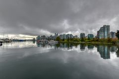 Downtown Vancouver Skyline - Vancouver, Canada royalty free stock photography