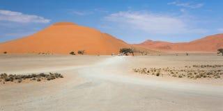 Panoramic view of the dune 45 Stock Photo