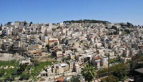Panoramic view of East Jerusalem, Israel Stock Image