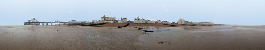 Panoramic view of Eastbourne Royalty Free Stock Images