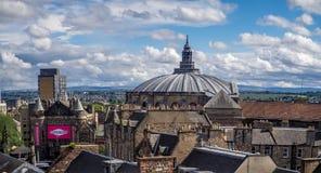 Panoramic view of Edinburgh Scotland Stock Photo