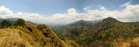 Panoramic view of Ella gap, Sri Lanka Stock Photo