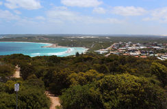 Panoramic view of Esperance Western Australia  and sea. Stock Photos