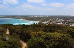 Panoramic view of Esperance Western Australia  and sea. Stock Photos