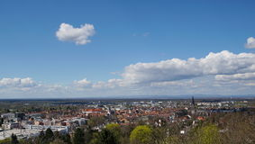Panoramic view of Ettlingen Royalty Free Stock Photos