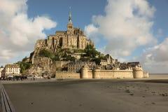 Panoramic view of famous Le Mont Saint-Michel Stock Image