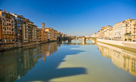 Panoramic view of Florence. Royalty Free Stock Images
