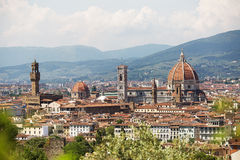 Panoramic view of Florence Stock Image