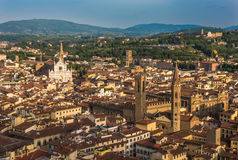 Panoramic view of Florence, Italy Royalty Free Stock Photo