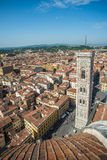Panoramic view of Florence, Italy Stock Photos