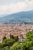 Panoramic view of Florence Royalty Free Stock Photos