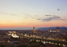 Panoramic view of Florence  - Tuscany, italy Stock Image