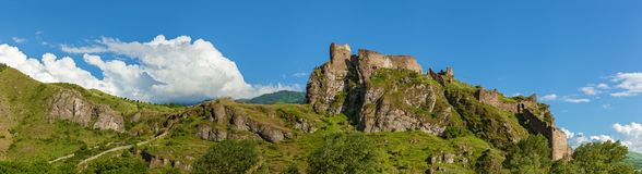 Atskuri Fortress Ruins, Georgia royalty free stock image