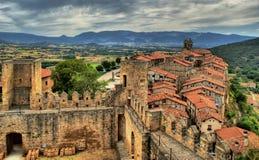 Panoramic view of Frias Royalty Free Stock Image