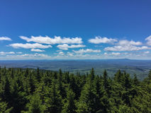 Free Panoramic View From Top Of Mountains In New Hampshire Royalty Free Stock Image - 93448906