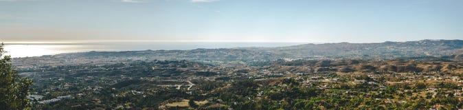 Panoramic view of Fuengirola town Stock Photography