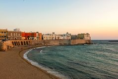 Panoramic view of Gallipoli - Puglia Royalty Free Stock Photos