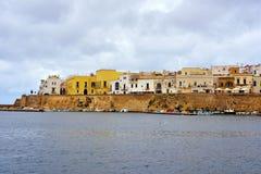Gallipoli. Puglia. Italy. Panoramic view of Gallipoli. Puglia. Italy royalty free stock images