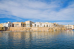 Panoramic view of Gallipoli. Puglia. Italy. Stock Images