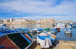 Panoramic view of Gallipoli. Puglia. Italy. Royalty Free Stock Image