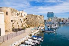Panoramic view of Gallipoli. Puglia. Italy. Royalty Free Stock Photo
