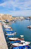 Panoramic view of Gallipoli. Puglia. Italy. Royalty Free Stock Photography
