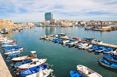 Panoramic view of Gallipoli. Puglia. Italy. Royalty Free Stock Photo
