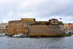 Gallipoli. Puglia. Italy. Panoramic view of Gallipoli. Puglia. Italy royalty free stock photos