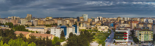 Panoramic view of Gaziantep city Stock Image