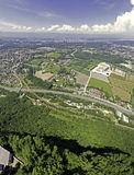 Panoramic View of Geneva Royalty Free Stock Photo