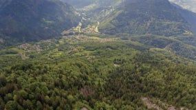 Panoramic View of Geneva Stock Photos