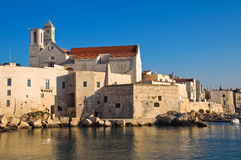 Panoramic view of Giovinazzo. Puglia. Italy. Stock Photos