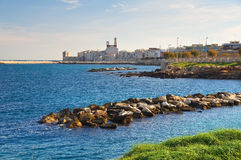Panoramic view of Giovinazzo. Puglia. Italy. Stock Images