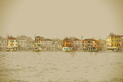 Panoramic view of Giudecca Island Royalty Free Stock Photo