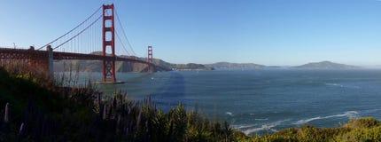 Panorama of San Francisco´s Iconic Golden Gate Bridge royalty free stock photos
