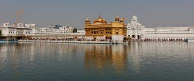 Golden temple in Amritsar / India stock photo