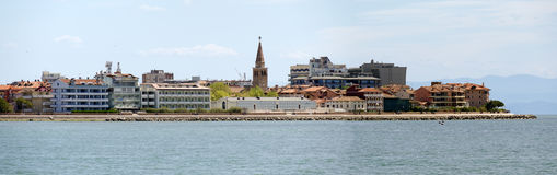 Panoramic view of Grado Royalty Free Stock Images