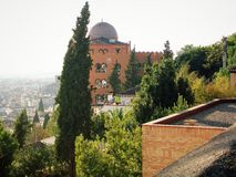 Panoramic view-Granada-ANDALUSIA-SPAIN Stock Photos