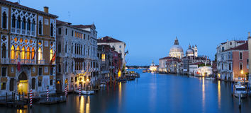 Panoramic view of the Grand Canal Royalty Free Stock Photo