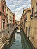 Panoramic View of Grand Canal, Venice, Italy royalty free stock photos