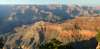 Panoramic view of the Grand Canyon Stock Photography