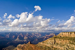 Panoramic view of the Grand Canyon Royalty Free Stock Image