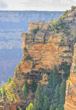 Panoramic view of Grand Canyon, view point at south rim Stock Image